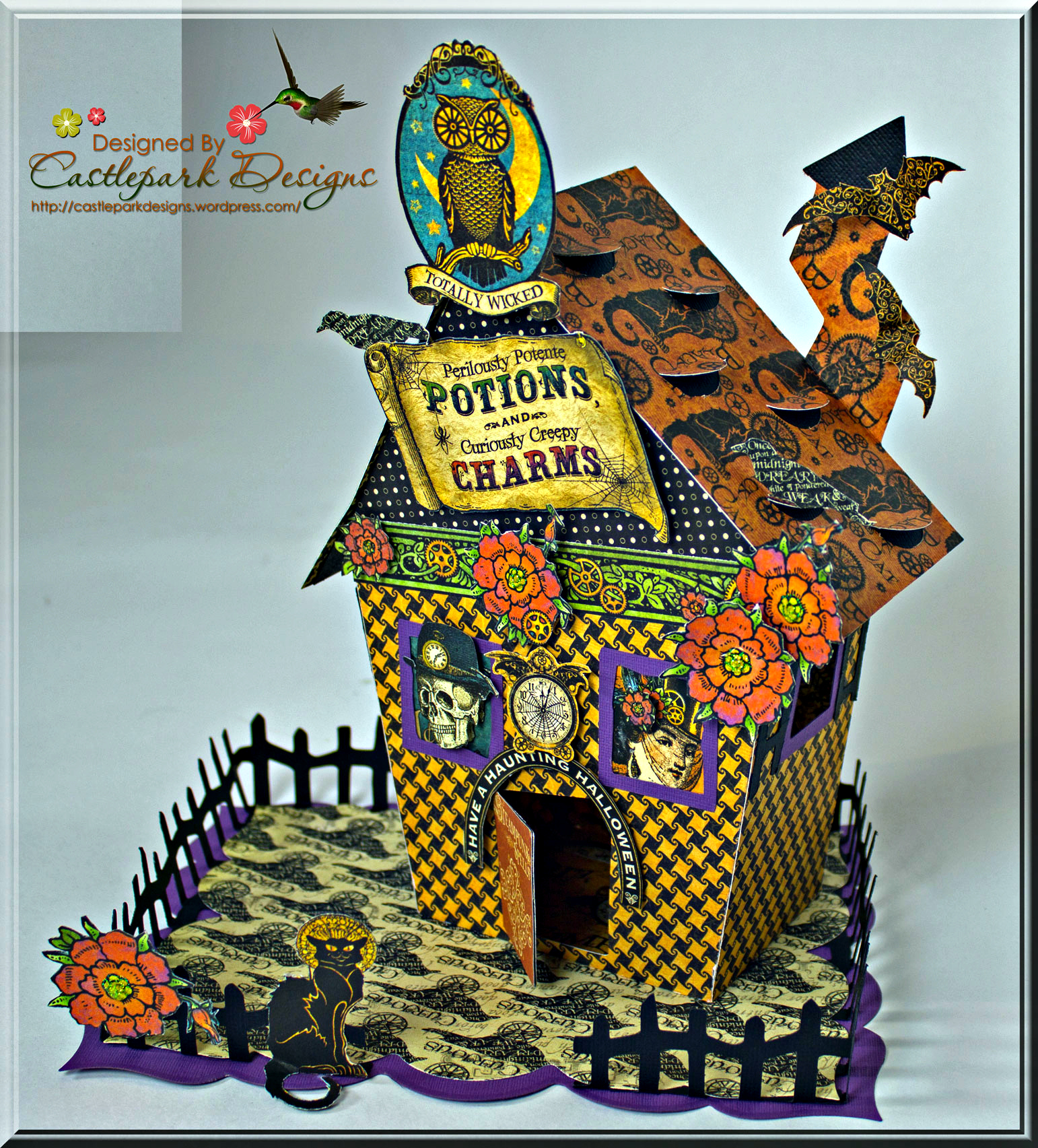 Halloween Home Decor Ideas: Castlepark Designs