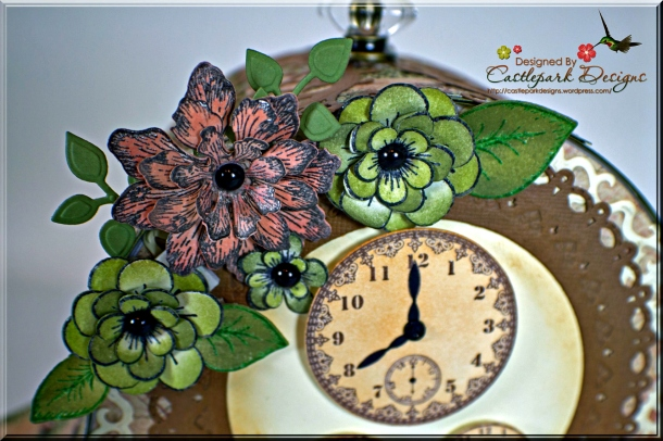 Joann-Larkin-Mantle-Clock-Flowers