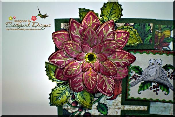 Joann-Larkin-Fancy-Fold-Christmas-Card-Flower