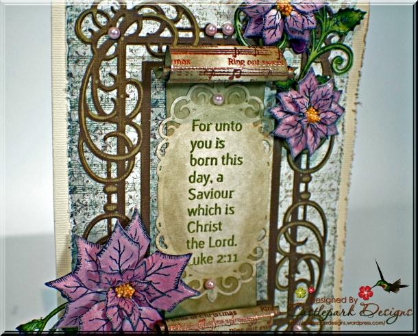 Joann-Larkin-Vintage-Scroll-Christmas-Card-Closeup