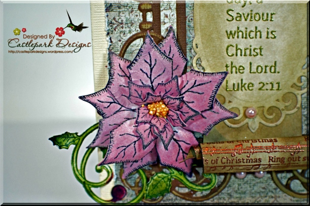 Joann-Larkin-Vintage-Scroll-Christmas-Card-Flower1