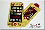 iPhone Slide Card Gift CardHolder