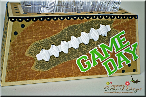 Joann-Larkin-Football-Utensil-Holder-Closeup