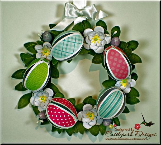 Easter Egg Wreath | Castlepark Designs