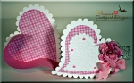 Valentine Hinged Heart Box