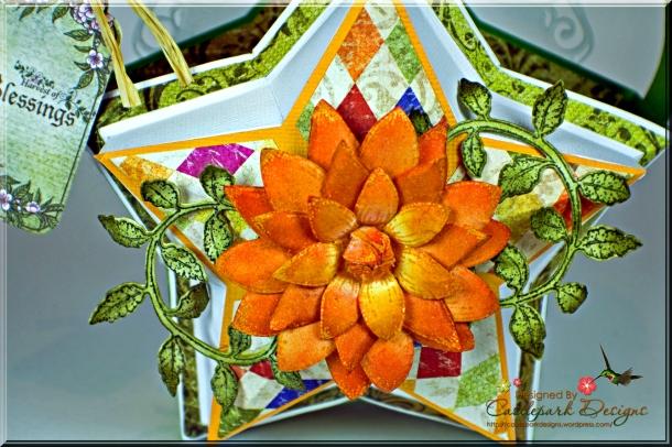 Joann-Larkin-Farmers-Market-Star-Shaped-Gift-Bag-Flower