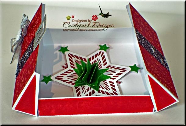 Joann-Larkin-Christmas-Card-Holder-Open