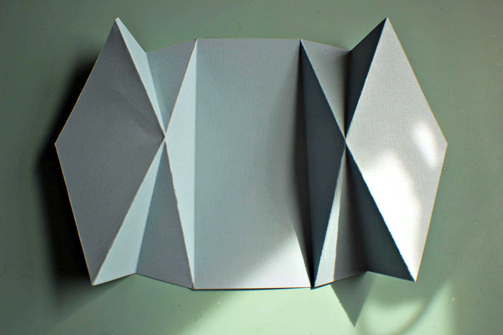 Diamond Fold Card Temp...