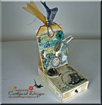 Easel card and Gift Box