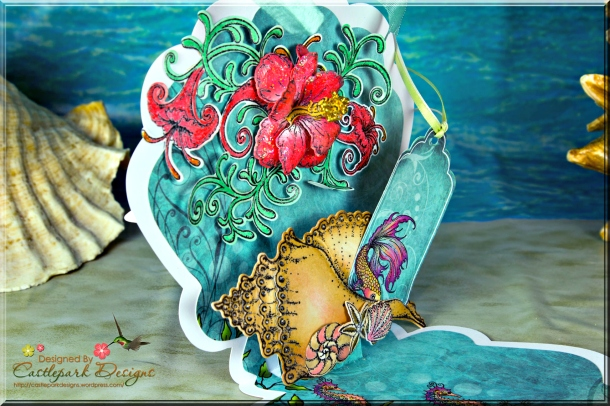 Joann-Larkin-Sea-Shell-Popup-Card-Closeup