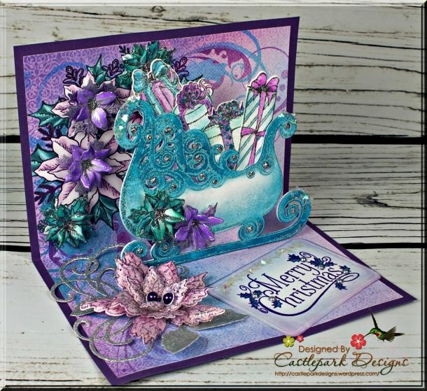 Joann-Larkin-Merry-Christmas-Sleigh-Pop-Out-Card