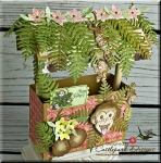 3D Fun Times Monkey Tiki Hut