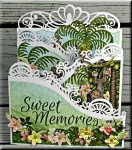 Sweet Memories Fold Out Card