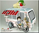3D Ice CreamTruck