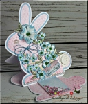 Heartfelt Creations Easter Bunny 'Easel Card'