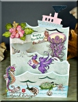 Under the Sea – Triple Easel Card