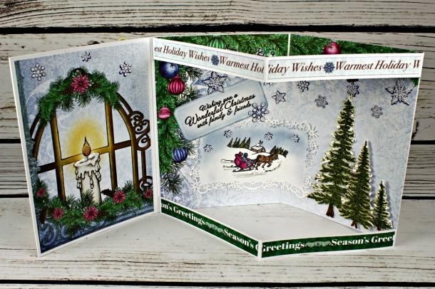 Joann-Larkin-Christmas-Envelope-Card-Open