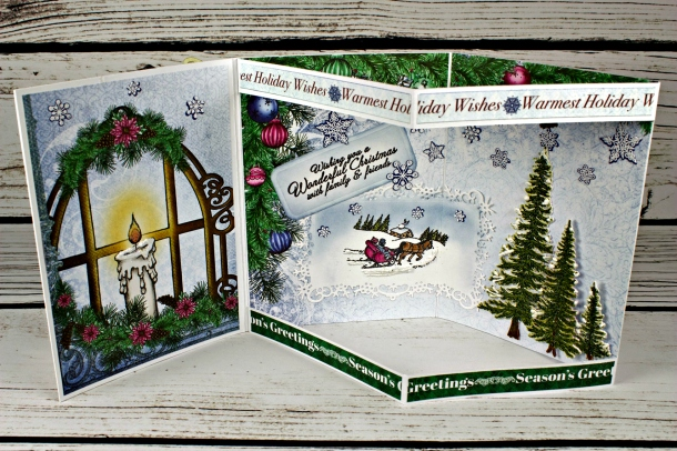 Joann-Larkin-Christmas-Envelope-Card-Open