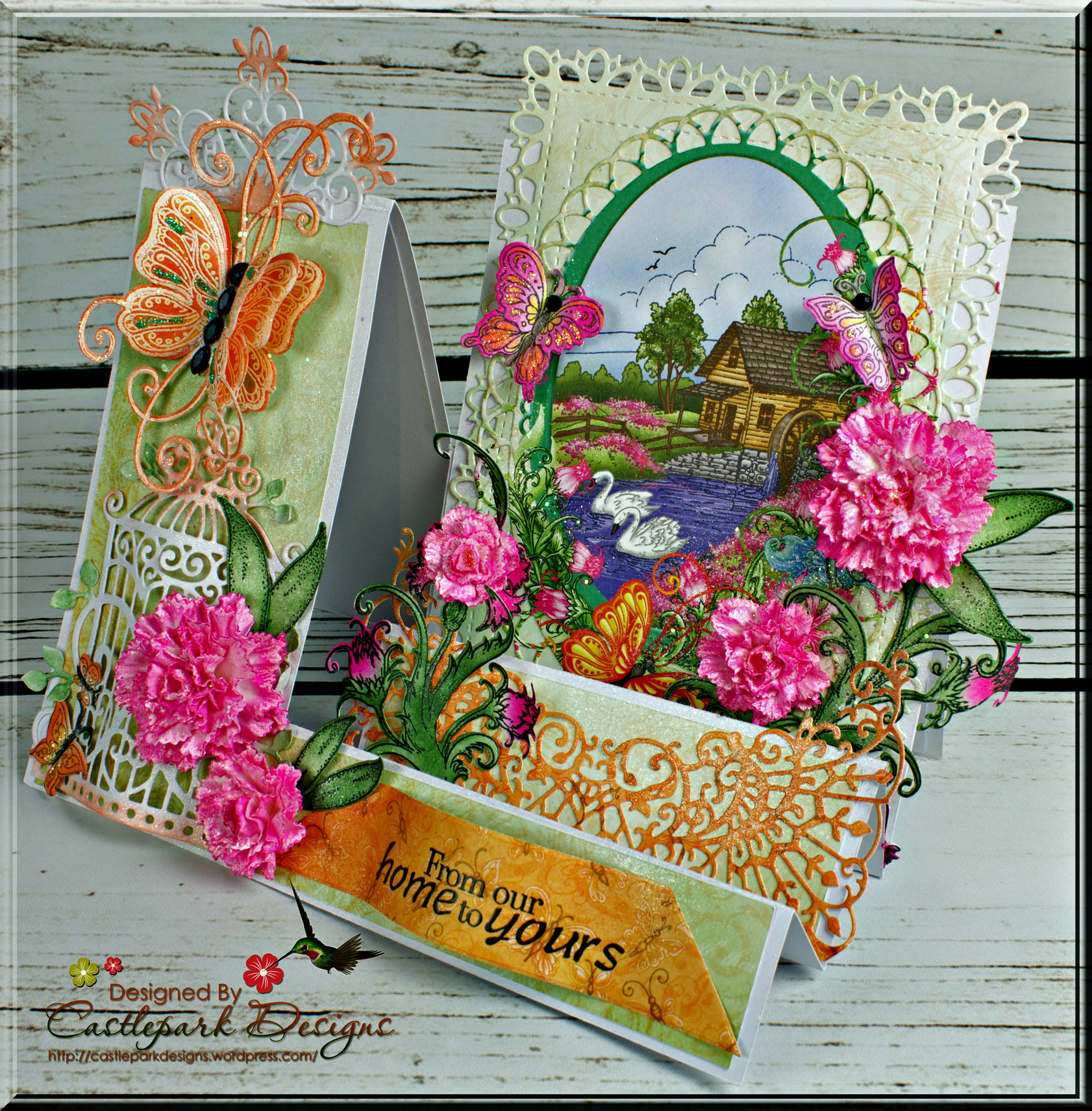 Hcd1 7164 Heartfelt Creations Cut /& Emboss Dies ~small Camelia Carnation