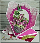 Friendship in Bloom Spring Form Card