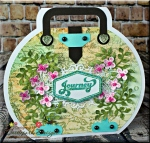 Journey Suitcase Shaped Card