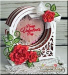 Happy Valentines Day Grand Dome 3D Card