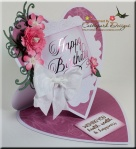 Heart Easel Card